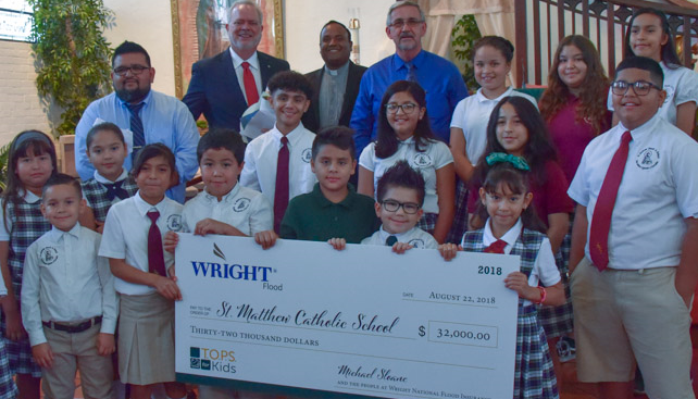 Tops4Kids with Check St Matthew