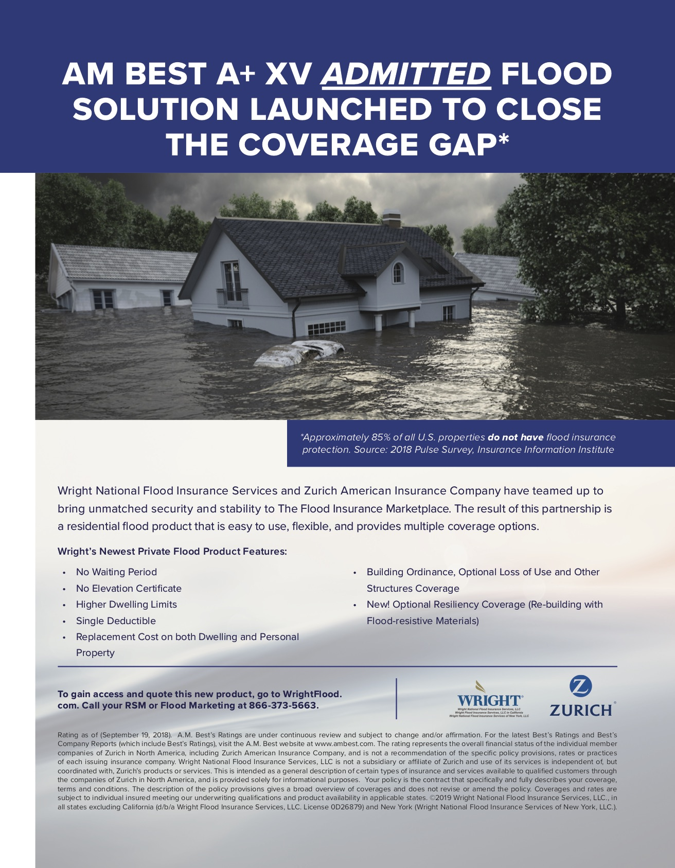 Zurich Residential Private Flood Insurance Ad